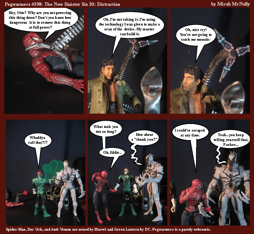 398. The New Sinister Six 20: Distraction