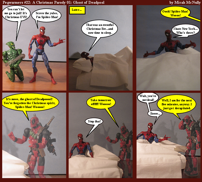22. A Christmas Parody 01: Ghost of Deadpool