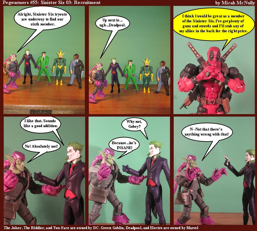 55. Sinister Six 03: Recruitment