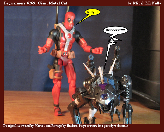 269. Giant Metal Cat