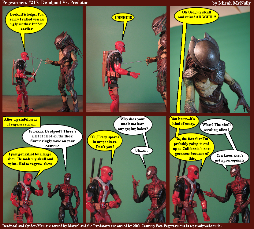 217. Deadpool vs. Predator