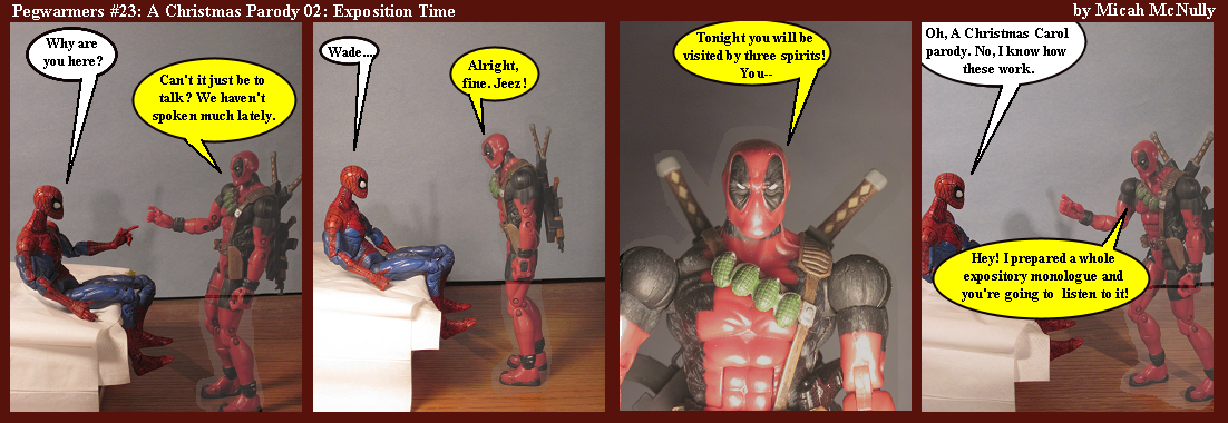 23. A Christmas Parody 02: Exposition Time