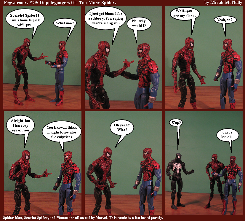 79. Doppelganger 01: Too many Spiders