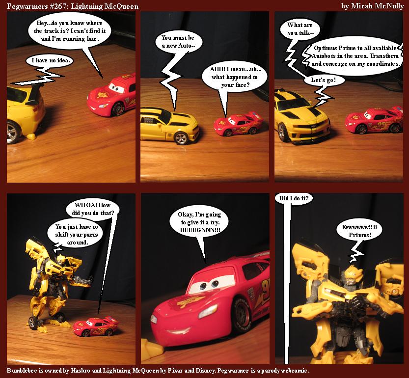 267. Lightning McQueen