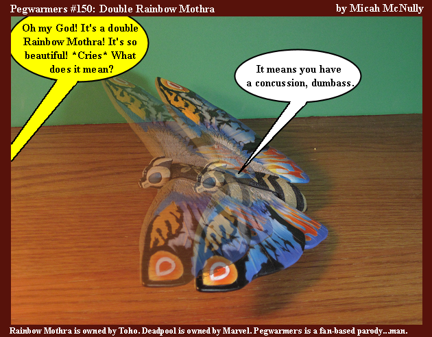 150. Double Rainbow Mothra