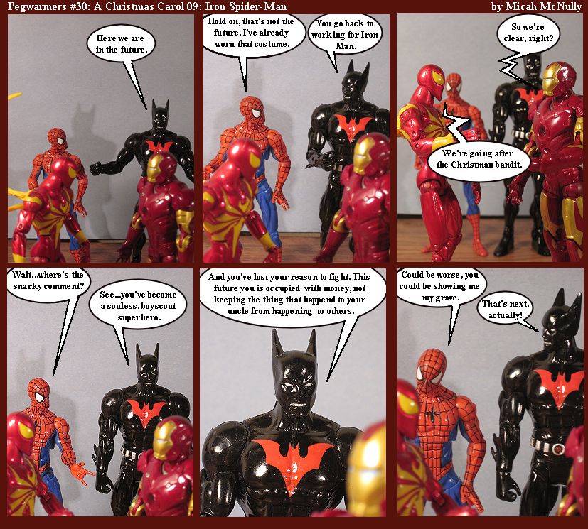 30. A Christmas Carol 09: Iron Spider-Man
