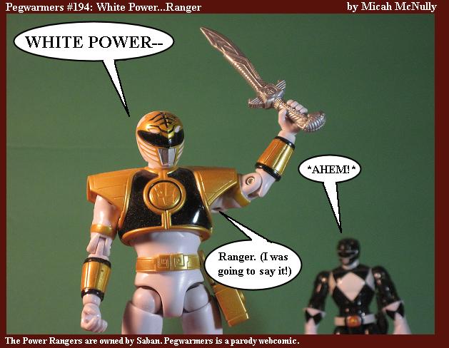 194. White Power...Ranger
