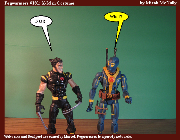 181. X-Man Costume