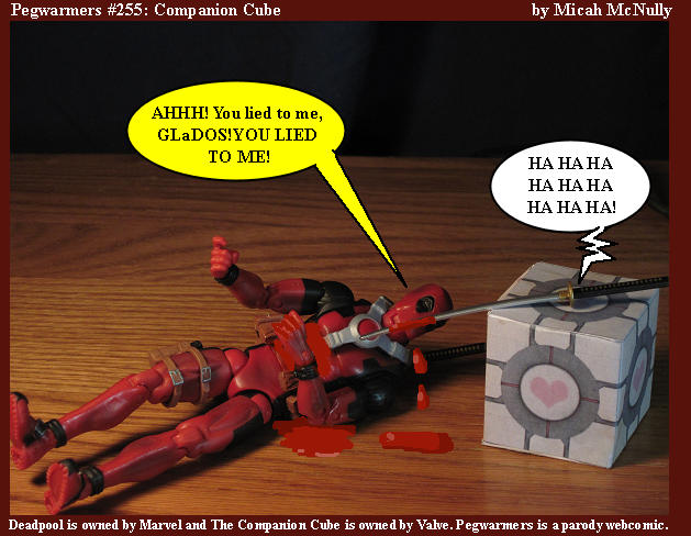 255. Companion Cube