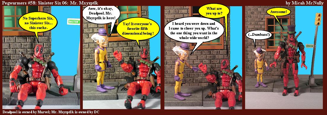 58. Sinister Six 06: Mr. Mxyzptlk