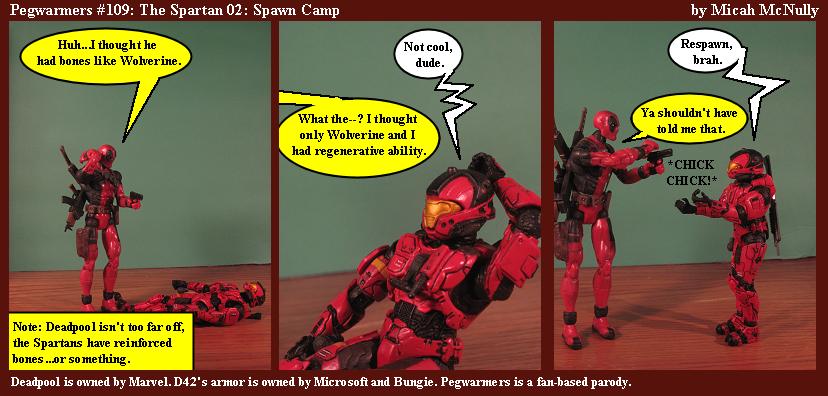 109. The Spartan 02: Spawn Camp