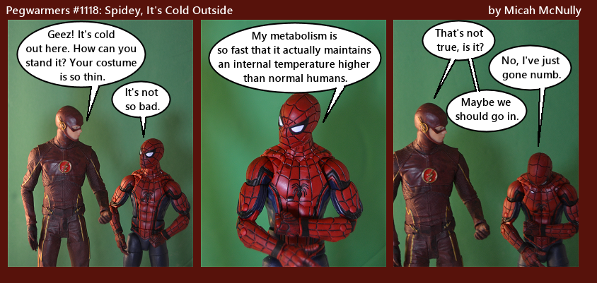 1118. Spidey, It's Cold Outside
