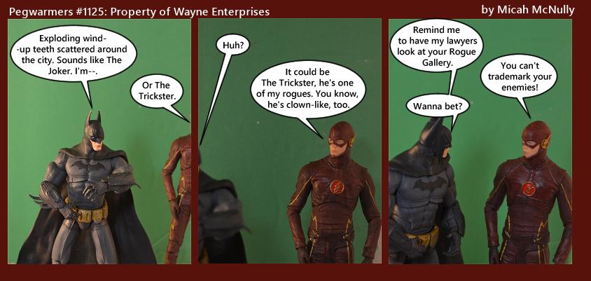 1125. Property of Wayne Enterprises