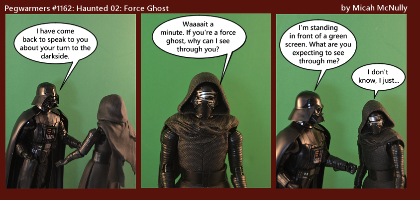 1162. Haunted 02: Force Ghost