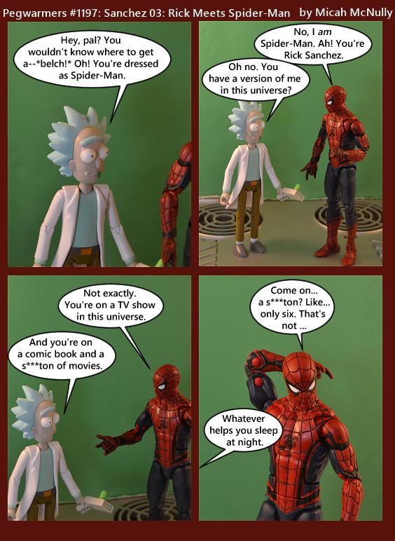 1197. Sanchez 03: Rick Meets Spider-Man