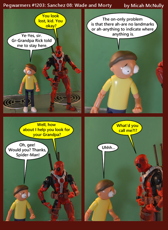 1203. Sanchez 08: Wade and Morty