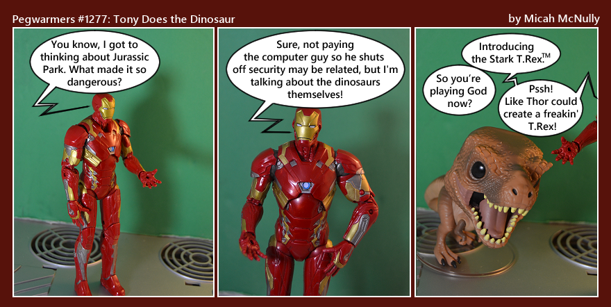 1277. Tony Does the Dinosaur