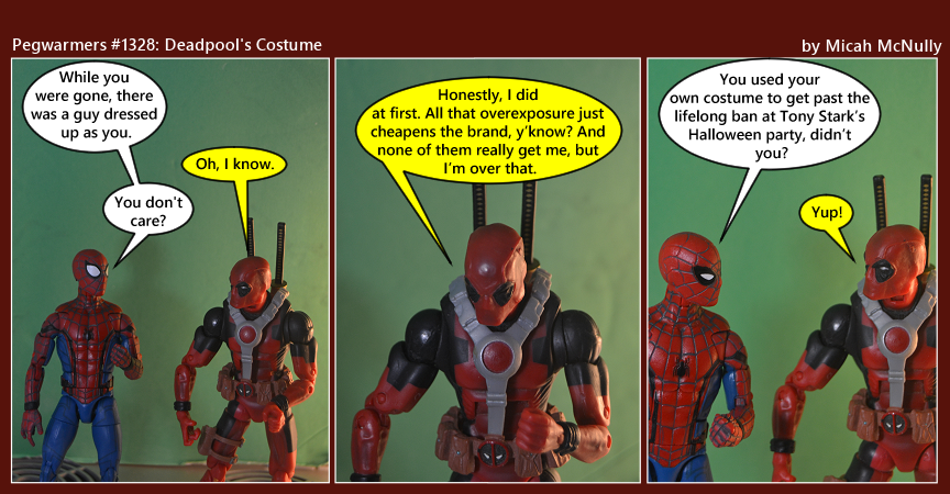 1328. Deadpool's Costume