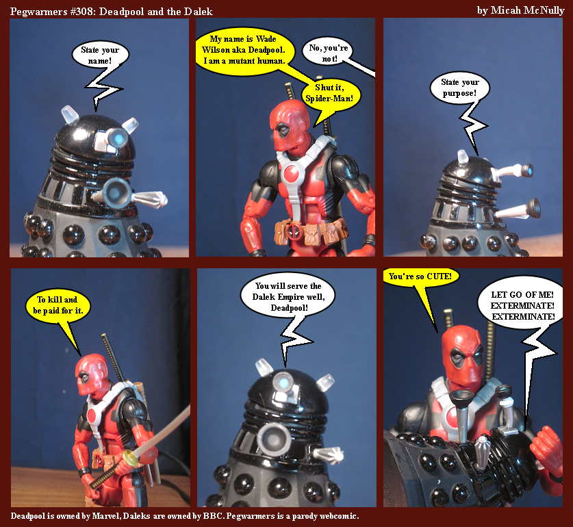 308. Deadpool and The Dalek