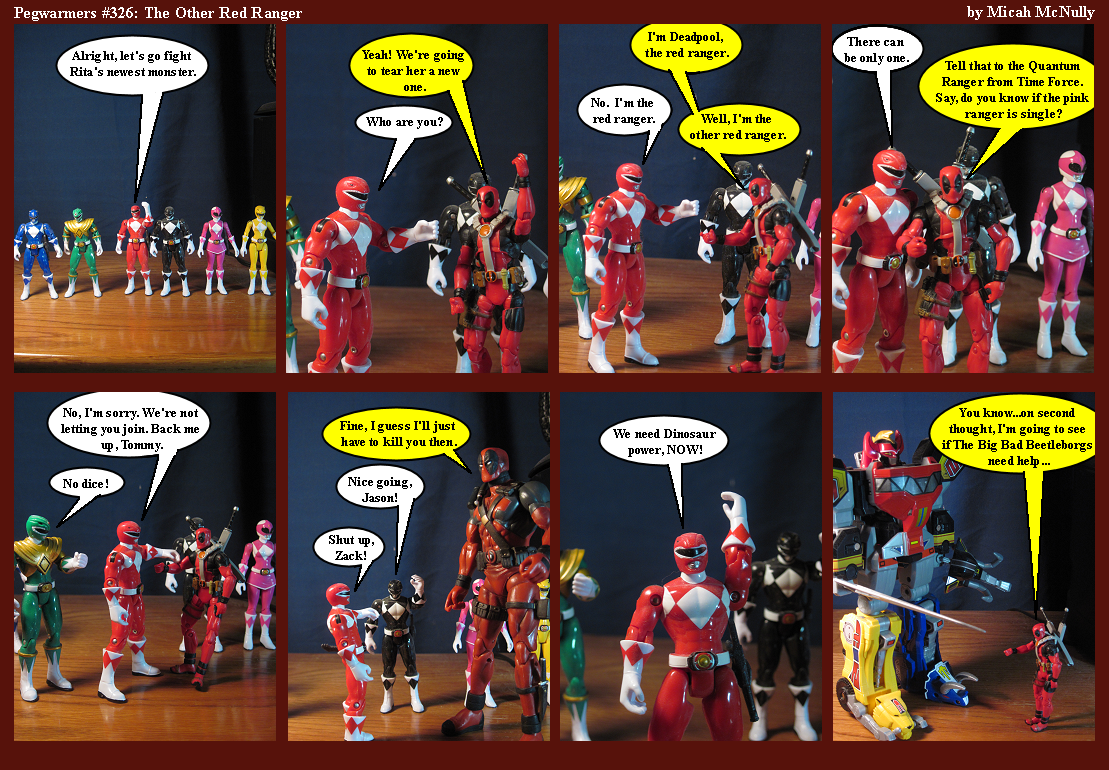 326. The Other Red Ranger