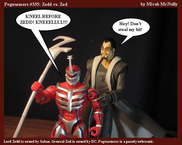 335. Zedd vs. Zod