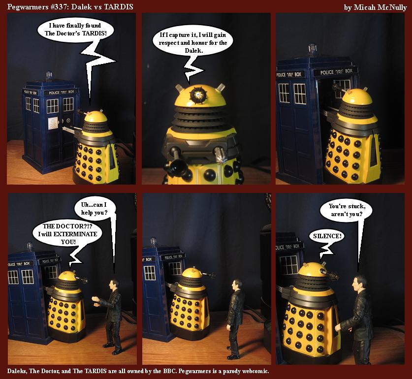 337. Dalek vs. TARDIS