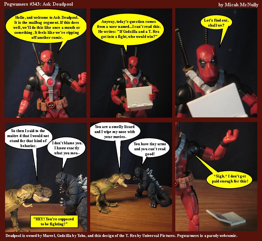 343. Ask Deadpool