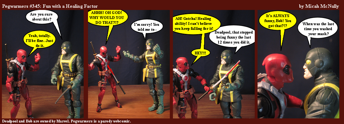 345. Fun with a Healing Factor