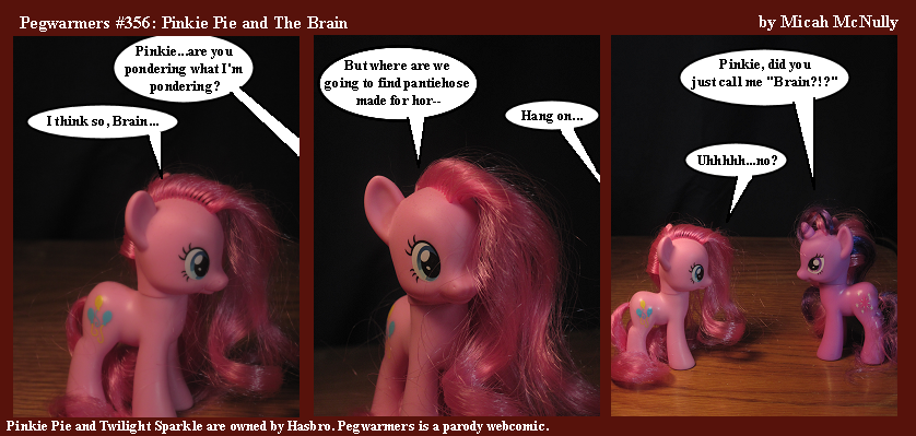 356. Pinkie Pie and the Brain