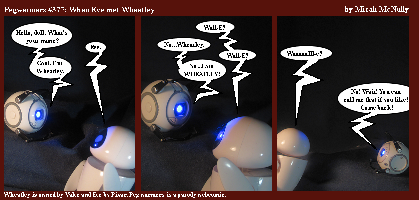 377. When Eve met Wheatley