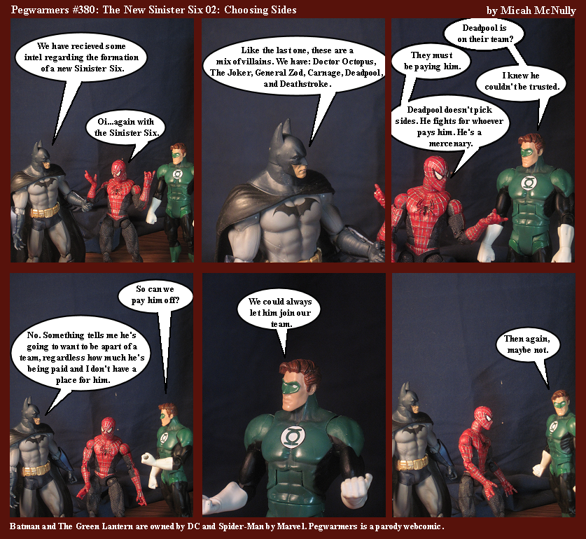 380. The New Sinister Six 02: Choosing Sides
