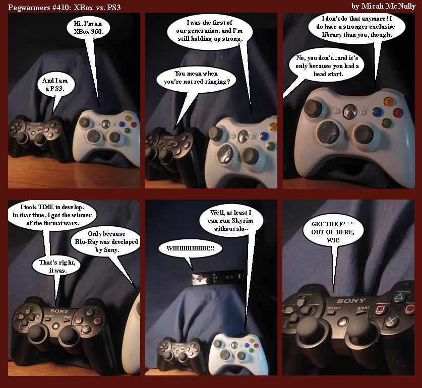 410. XBox vs. PS3