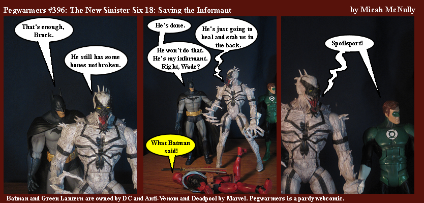 396. The New Sinister Six 18: Saving the Informant