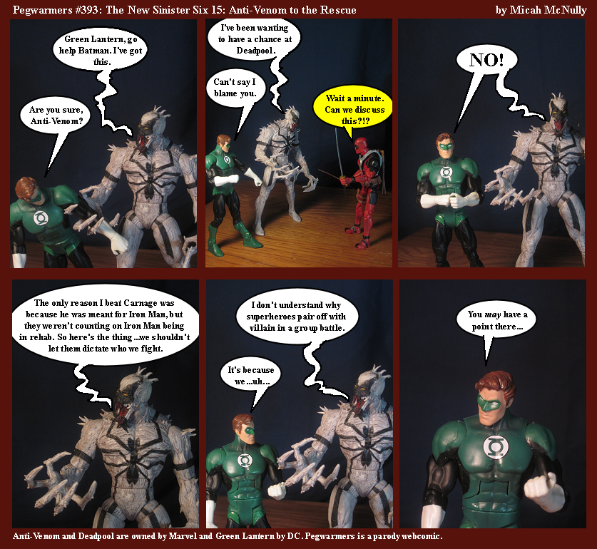 393. The New Sinister Six 15: Anti-Venom to the Rescue