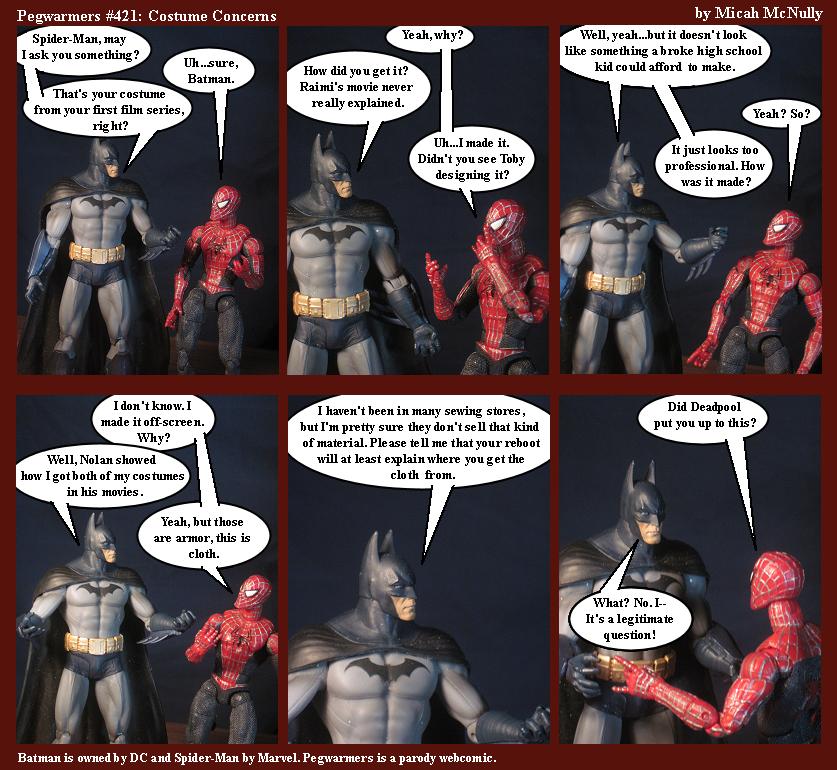 421. Costume Concerns