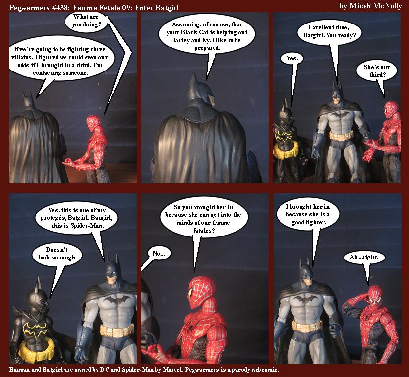 438. Femme Fatale 09: Enter Batgirl