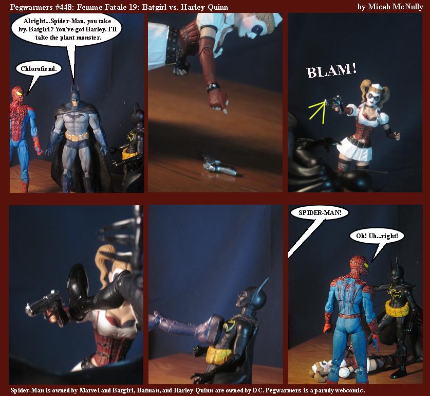 448. Femme Fatale 19: Batgirl vs. Harley Quinn