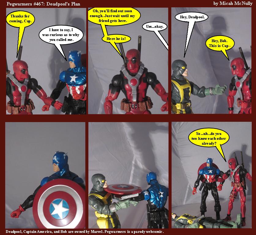 467. Deadpool's Plan