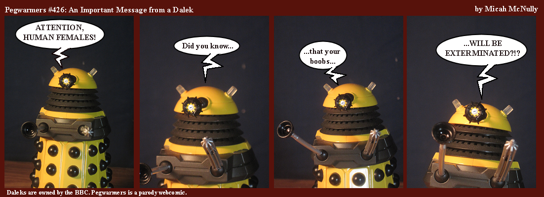 426. An Important Message From a Dalek