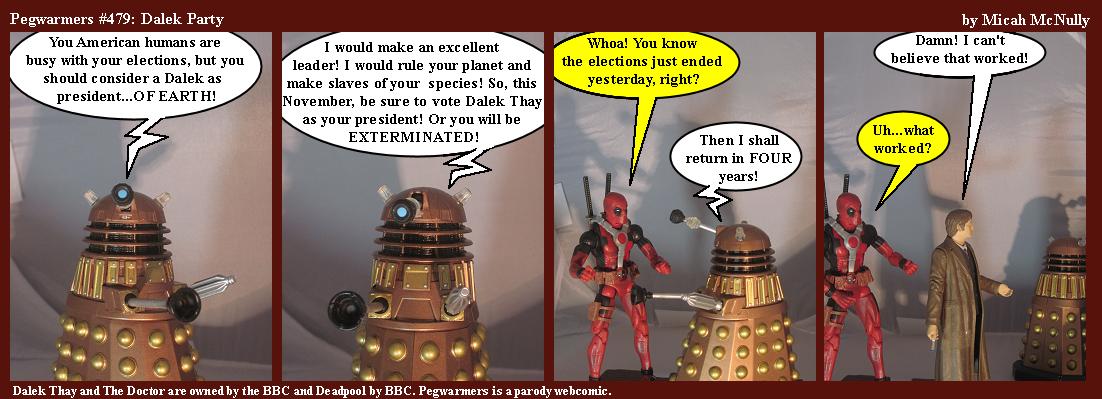479. Dalek Party
