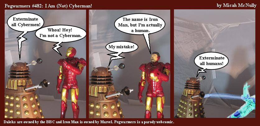 482. I Am (Not) Cyberman!