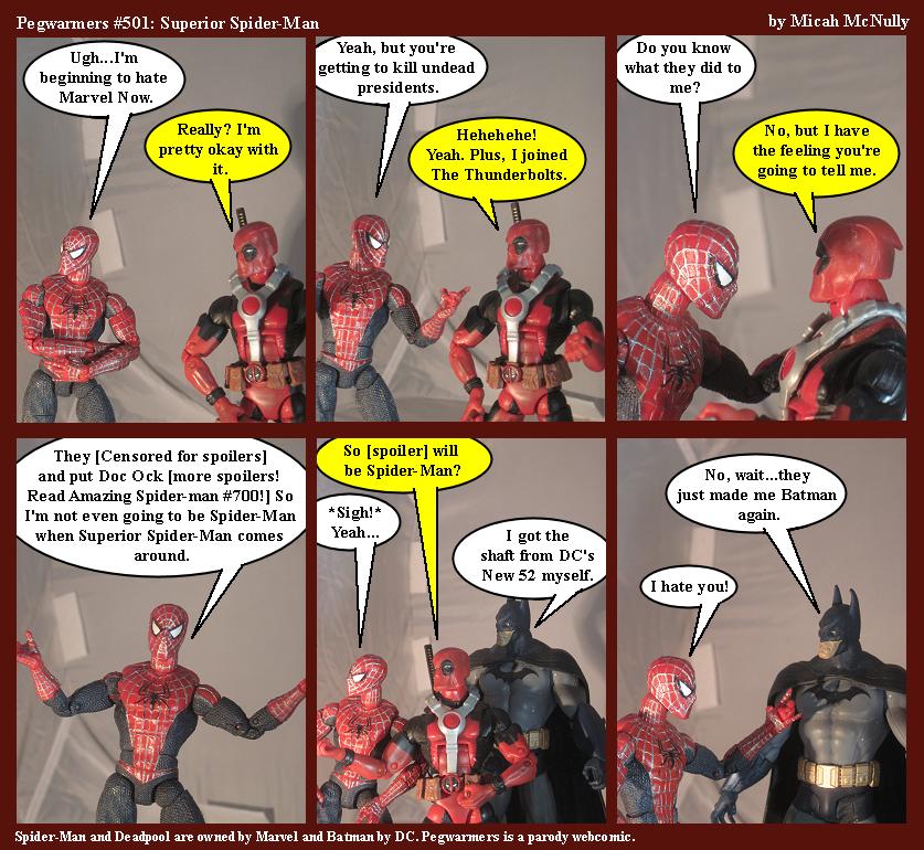 501. Superior Spider-Man