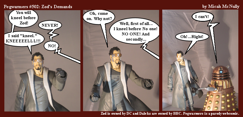 502. Zod's Demands