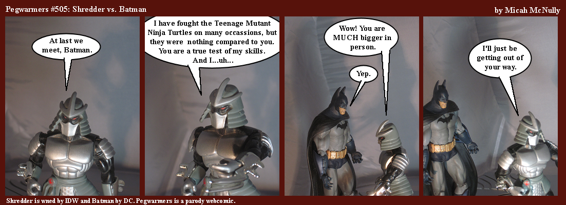 505. Shredder vs. Batman