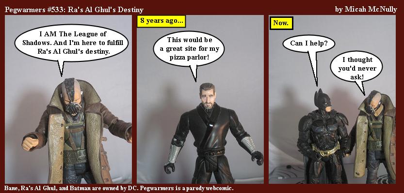 533. Ra's Al Ghul's Destiny