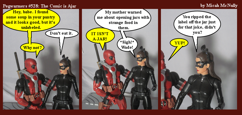 528. The Comic is Ajar