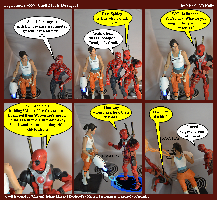 557. Chell Meets Deadpool