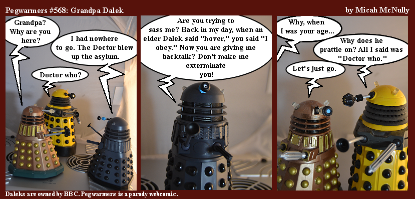 568. Grandpa Dalek