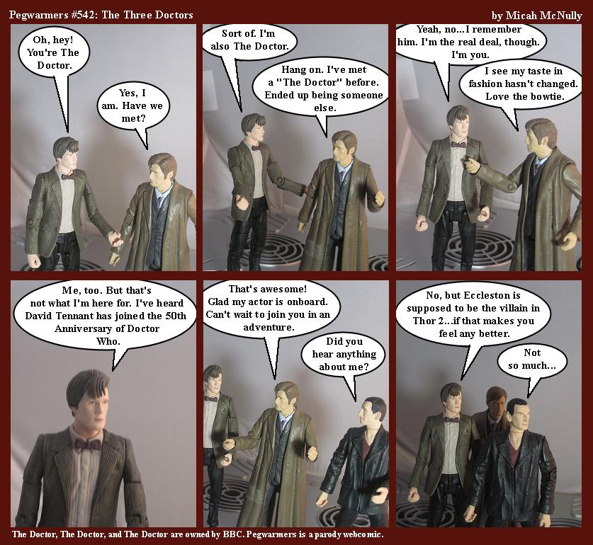 542. The Three Doctors