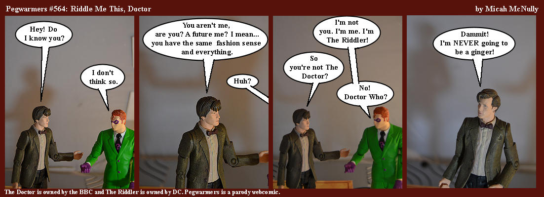 564. Riddle Me This, Doctor